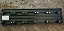 Aclam STS1SC BK Smart Track S1 Guitar Effects Pedalboard with Soft Case Black