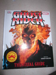 Ghost Rider Visual Guide Hardcover Book Marvel Comics - Free Shipping