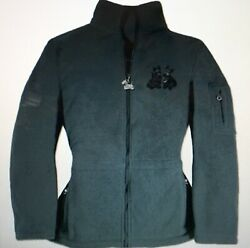 NEW Ladies Danbury Mint Scottish Terrier Fleece Jacket - Scottie Dog Scotty