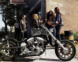 quot;SUPPORT YOUR LOCAL HELLS ANGELSquot; MOTORCYCLE CLUB 8X10 PHOTO YW019