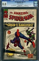 The Amazing Spider-man 23 Cgc 8.0 -- 3rd Green Goblin Jim Shooter Lee / Ditko