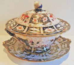 Extremely Rare Royal Crown Derby 2451 Soup Tureen - Circa 1940