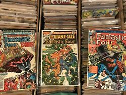 Huge 3,000+ Comic Book Lot Mixed Marvel DC Batman X-Men Spiderman Etc. 1960-Now