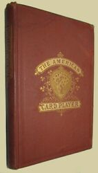 American Card-player 1866 First Edition Straight And Draw Poker Whiskey Poker