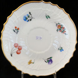 Perugia By Ginori Gravy Boat Stand 7 Diameter New Never Used Made In Italy