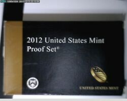 2012 1c- 1 Proof Set With Box And Coa Clad