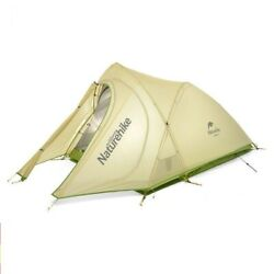 Cirrus Ultralight Tent 2 Person 20d Nylon With Silicon Coated Camping Mat 1.99kg