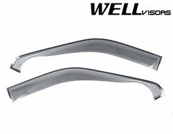 Wellvisors Extended Off Road Series Cab Side Window Visors For 09-14 Ford