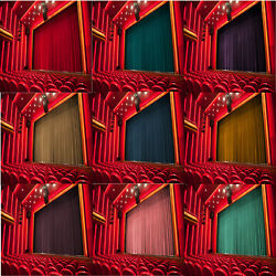 COTTON VELVET THEATRE CURTAIN NOISE REDUCTION PANEL STAGEMOVIEHALL DECOR DRAPE