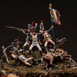 French Imperial Guard Battle Of Waterloo Tin Painted Toy Soldier Pre Sale | Art