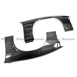 Bn Style Carbon Fiber Front Wide Fender +25mm Bodykits For Nissan Ps13 Silvia