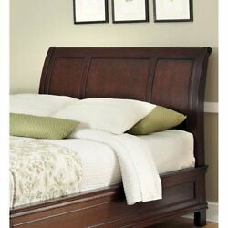 Home Styles Lafayette Collection King/california King Sleigh Headboard, Espresso