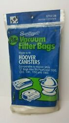 Hoover Canisters Style 26 J bags 3 pack fits Penncrest 1100 1110 1141 1150 1160 $4.49