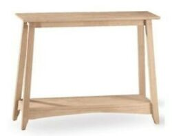 Whitewood Bombay Console Table 38 X 12 X 30h Ot-4s New