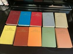 Watchtower Yearbooks 1960s Complete Decade Rare Brown 66