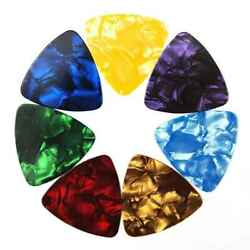 150x Guitar Picks Celluloid Thin Acoustic Electric Plectrums Assorted Color RU