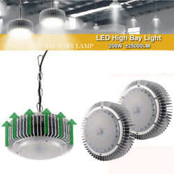 3X 200W LED High Bay Light Warehouse Industrial Factory Lamp Roof Shed Lighting