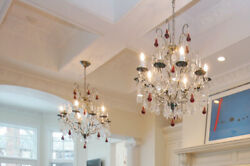 Clive Christian Chandeliers - Rare Victorian Pear Drop