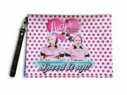 I LUCY LUCY MAKE UP BAG SPEED IT UP DESIGN