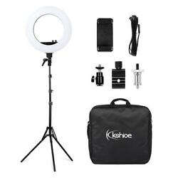 18 Led Dimmable Photography Ring Light Continuous Photo Video Lighting Us