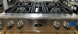 OUT OF BOX VIKING 30' GAS COOKTOP RANGETOP STAINLESS STEEL VGRT5304BSS
