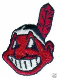 Cleveland Indians Mlb Baseball Vintage 3 Chief Wahoo Team Logo Patch