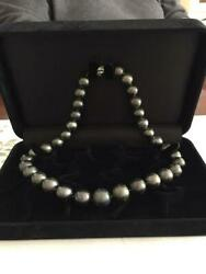Black butterfly pearl necklace 6 1 Contact