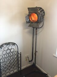1930and039s Mole Richardson And Co Film Theatre Set Stage Light.
