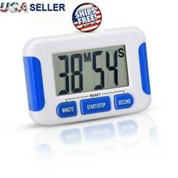 Digital Kitchen Timer Magnetic Cooking LCD Large Count Down Clear Loud Alarm Egg $5.79