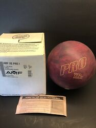Amf Xs Pro 1 New In Box Bowling Ball 15 Lbs Vintage Rare Fast Shipping