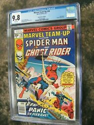 Marvel Team-Up #58 35 cent price variant CGC 9.8 HIGHEST EVER GRADED!