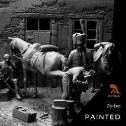 Horse Chasseurs Of Imperial Guard Painted Painted Toy Soldier Pre-sale   Art