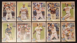 2018 Orioles 40 Card Lot W/ Topps Gypsy Queen Team Set 21 Opening Day Players