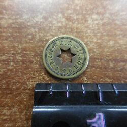 Very Rare Token C. C. Wilson Mansfields. D. Good For 5 Cents Trade Only One