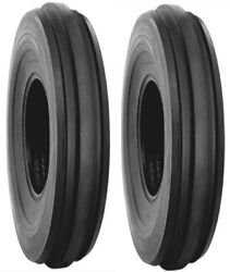 2 Two 7.5l-15, 75l15 Lrc F2 Harvest King 3 Rib Front Tractor Tires