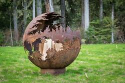 Death Star Fire Pit - Natural Gas - Electronic Ignition