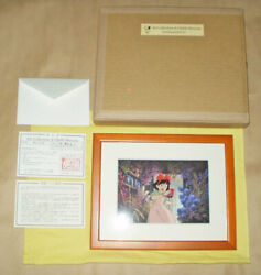 Rare Kikiand039s Delivery Limited Official Hand-printed Cel [ghibli] Mu