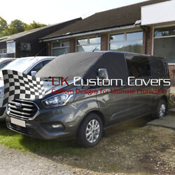Ford Transit Tourneo 2013 On Windscreen Screen Curtain Wrap Cover 316 Black