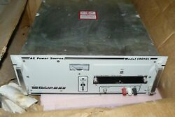 ELGAR AMETEK 1001SL VARIABLE FREQUENCY PROGRAMMABLE AC POWER SUPPLY SOURCE 230V