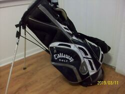 ARNOLD PALMER JSA AUTHENTICATED CALLAWAY X SERIES GOLF BAG