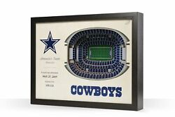 3d Stadium View   Wall Art   Wood   Nfl Licensed   Choose Your Team