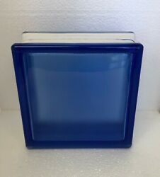 VIOLET Glass Block By WECK. NEW!!!   7 1/2
