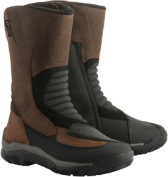 Alpinestars 2443418-82-10 Campeche Drystar Oiled Leather Boots 10 Brown
