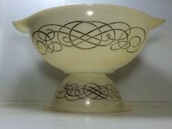 Vintage Pyrex Scroll Chip And Dip