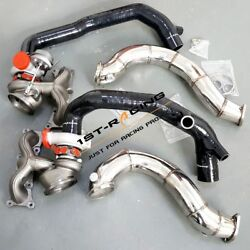 For 07-10 Bmw 335i 3.0l N54 650hp Td04-16t Turbos+2 Inlets+3 Exhaust Downpipe