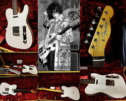 Fender Jimmy Page Mirror Telecaster White Blonde-limited- Sofort Lieferbar