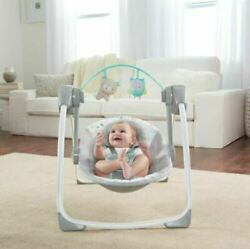 Best Baby Infant Swing Compact Ingenuity Portable Adjustable Music New Z28