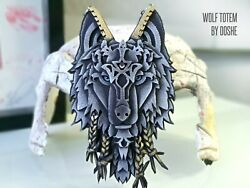 Wolf Head - Wolf Totem - Car Hanger - Wolf Gifts For Men - Car Accessories