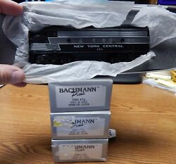 3 Bachmann Plus Nyc End Aba Locomotive All New In Boxes 2 Sealed Ho Scale Lqqk