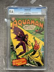 Aquaman 29 Cgc 9.6 Ow To White Pages 1st Ocean Master Silver Age Key